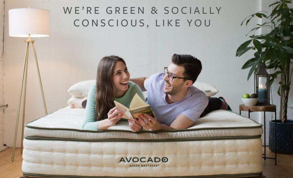 green mattress